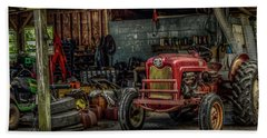 Farmall Tractor - Forever Florida Beach Towel