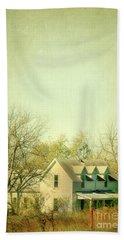 Farmhouse In Arkansas Beach Sheet by Jill Battaglia