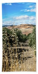 Farmland In Andalucia Beach Towel