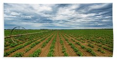 Farmland On The North Fork Beach Towel