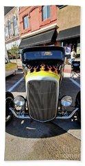Fast Flames Beach Sheet