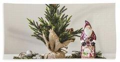 Beach Sheet featuring the photograph Father Christmas by Kim Hojnacki