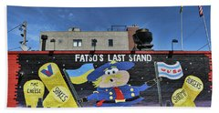 Fatso's Last Stand # 2 - Chicago Beach Towel