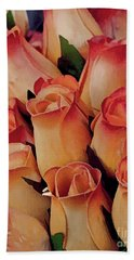 Favorite Roses Beach Towel