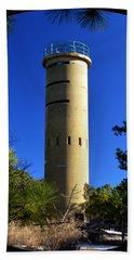Fct7 Fire Control Tower #7 - Observation Tower Beach Sheet
