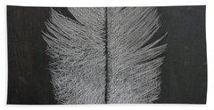 Feather 1 Beach Towel