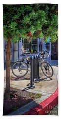 Feather Bicycle Beach Towel
