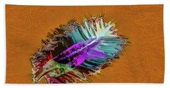 Feather #h8 Beach Towel