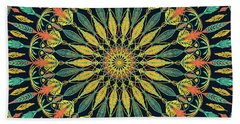 Feather Mandala II Beach Sheet