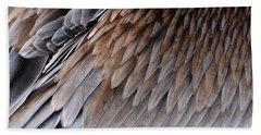 Feathers Cascade Beach Towel