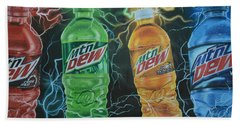 Feel The Dew Beach Towel