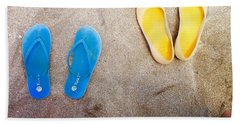 Feet Around The World #23 Beach Sheet