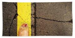 Feet Around The World #27 Beach Sheet