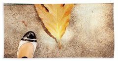 Feet Around The World #30 Beach Towel