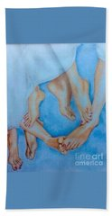 Naughty Feet Beach Towel