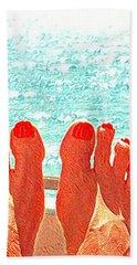 Feets Don't Fail Me Now Beach Towel