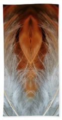 Female Feathers Beach Towel