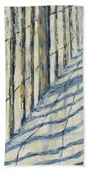 Fence At Palmetto Dunes Beach Towel