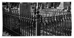 Fenced Grave Beach Sheet
