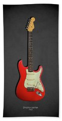 Fender Stratocaster 63 Beach Towel