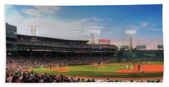 Fenway Park Panoramic - Boston Beach Towel