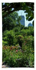Fenway Victory Gardens In Boston Massachusetts  -30951-30952 Beach Towel