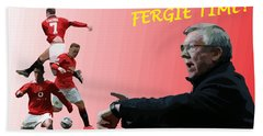 Fergie Time Beach Towel