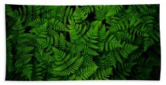 Ferns Galore Beach Towel