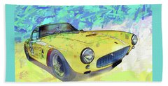 Ferrari 250 Gt Swb-c Beach Sheet