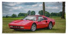 Beach Sheet featuring the photograph Ferrari 328 Gts by Adrian Evans