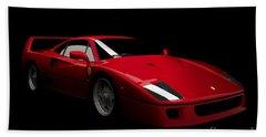 Ferrari F40 Beach Towel