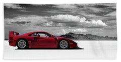Ferrari F40 Beach Sheet
