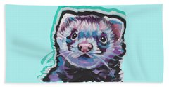 Ferret Fun Beach Towel