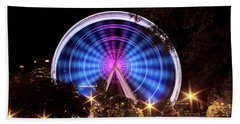 Ferris Wheel At Centennial Park 2 Beach Towel