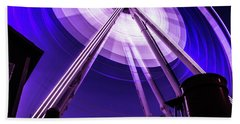 Ferris Wheel At Centennial Park 3 Beach Towel