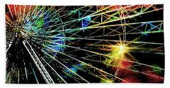 Ferris Wheel, Grand Roue Beach Towel