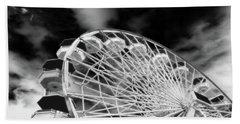 Ferris Wheel Santa Monica Pier Beach Towel