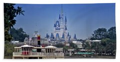 Ferry Boat Magic Kingdom Walt Disney World Mp Beach Towel