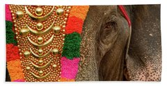 Festival Elephant Beach Towel