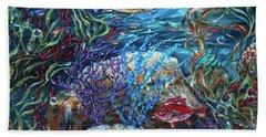Festive Reef Beach Towel