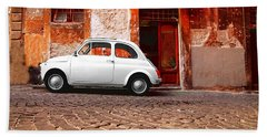 Fiat 500 Beach Towel