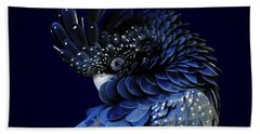 Fibonacci Cockatoo Beach Towel