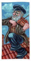 Fiddler On The Roof. Op2608 Beach Towel