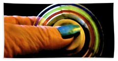 Beach Towel featuring the photograph Fidgets by Denise Fulmer