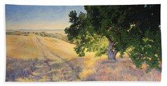 Field Oak Beach Towel