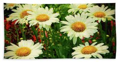 Field Of Daisies  Beach Sheet