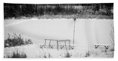 Beach Towel featuring the photograph Field Of Dreams  by Doug Gibbons