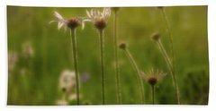 Field Of Flowers 2 Beach Sheet
