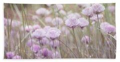 Field Of Flowers Beach Sheet