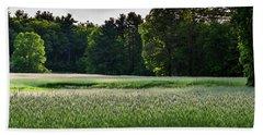 Field Of Green Beach Sheet